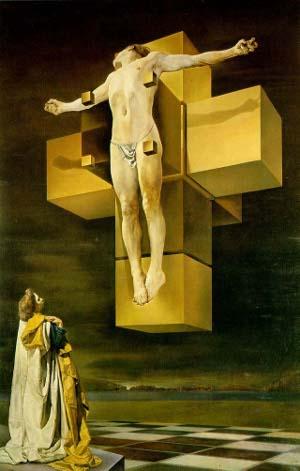 Dali Cruxifixion Cubic small