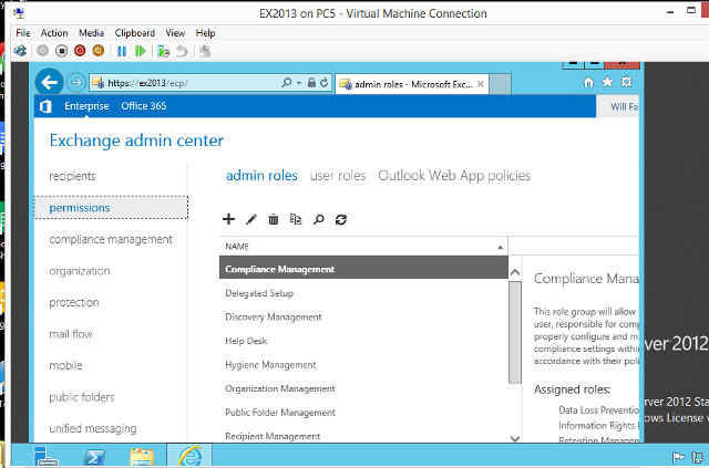 Exchange 2013 in Hyper-V VM