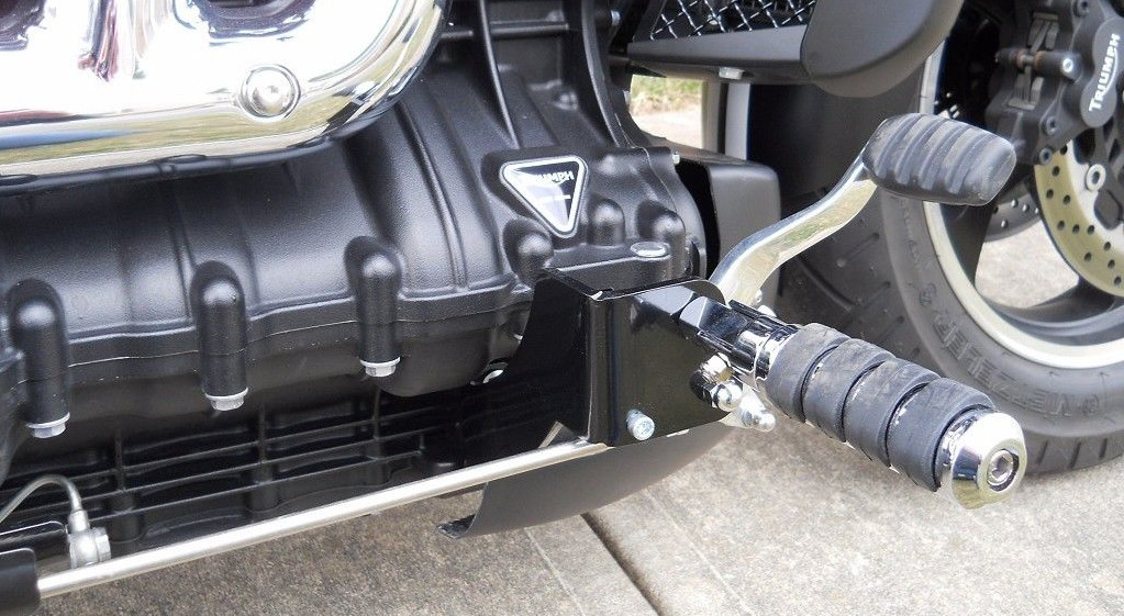 Triumph Rocket III Roadster FC17 forward controls (brake)