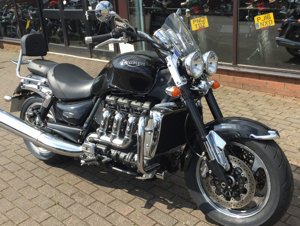 Triumph Rocket III Roadster in Black (mine)