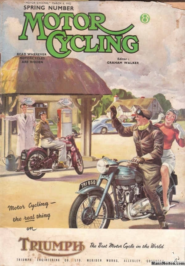 Vintage Motor Cycle Magazine